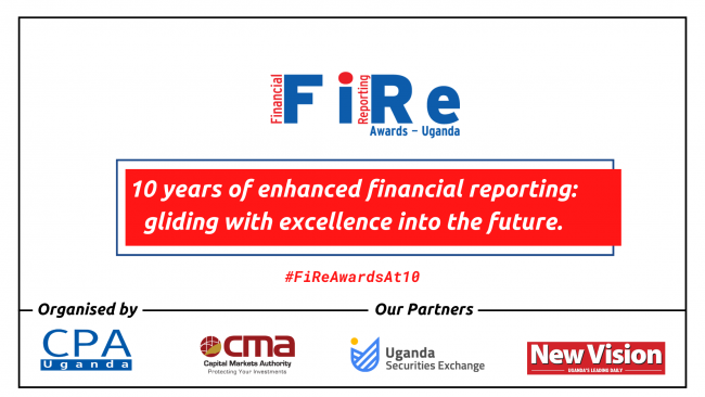 ICPAU Set to Hold 10th Financial Reporting (FiRe) Awards