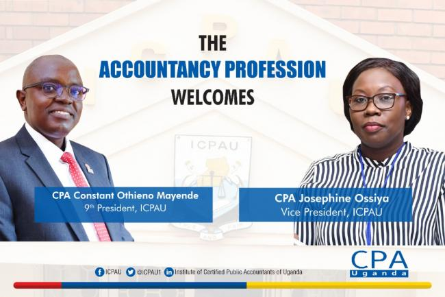 CPA Constant Othieno Mayende Elected ICPAU President