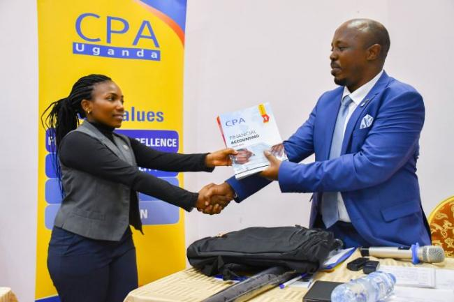 ICPAU Awards Second Batch of CPA Scholarships