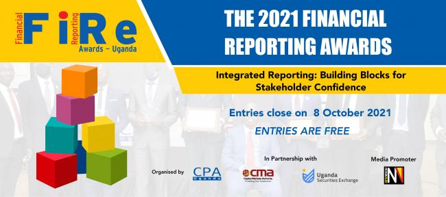 ICPAU, CMA, USE and Vision Group to Hold 11th Edition of Financial Reporting Awards